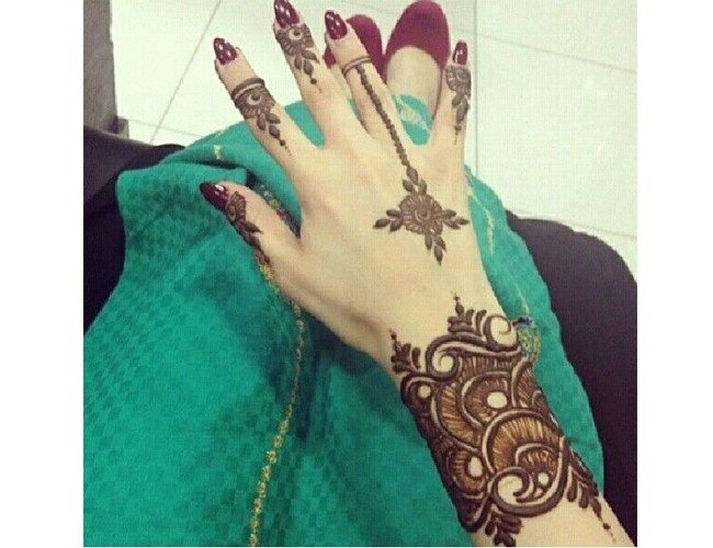 Mehndi Bracelet Designs 2016 : Bangle mehndi designs to inspire from