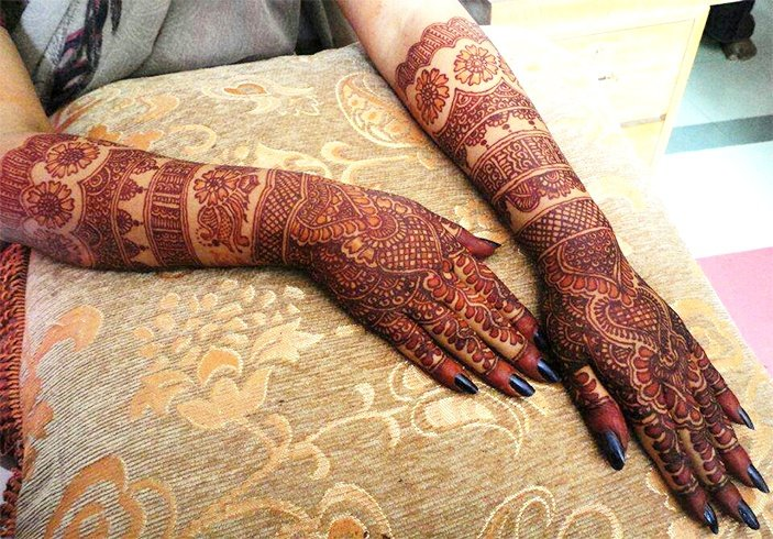 Bangle Mehendi Design