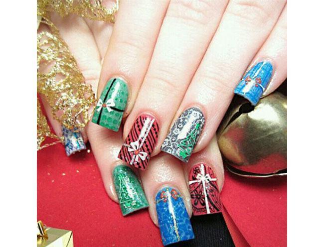 christmas nail art Designing