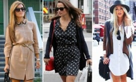 cool ways to style your shirt-dress