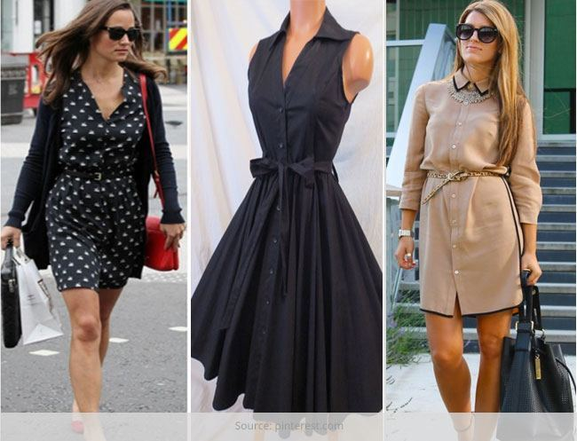 10 Cool Ways to Style your Shirt-Dress