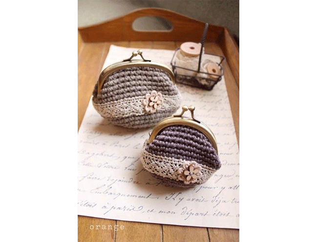 crochet coin purses