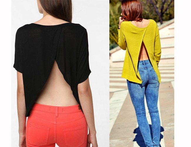 27 DIY T-Shirt Cutting Ideas To Try On Your Old Outfits For New Look