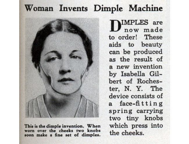 dimple machine