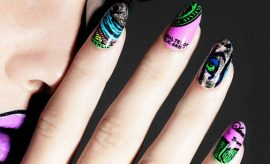 Nail Wraps in Salon Style