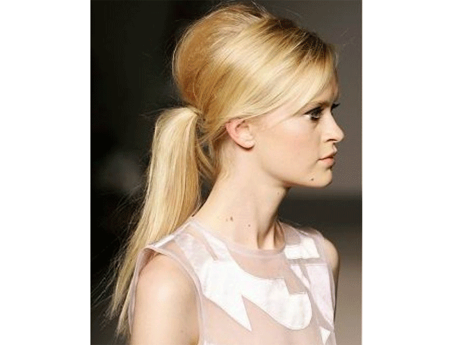 pouf hairstyle