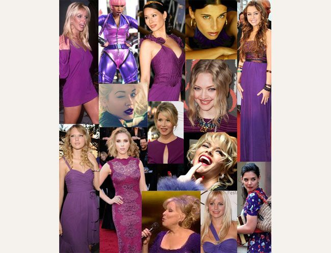 sagittarius celebs in purple