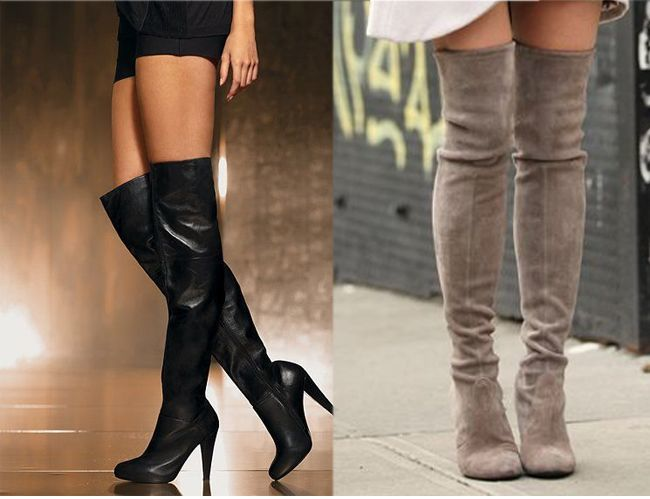 15 Ways to Wear the Over-The-Knee Boots