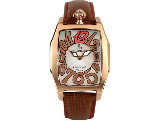 Alessandro Baldieri Women Pearly White Dial Watch