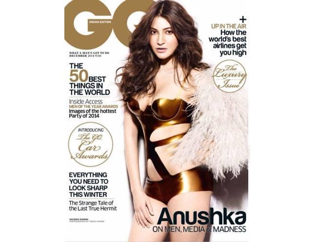 Anushka Sharma on GQ India