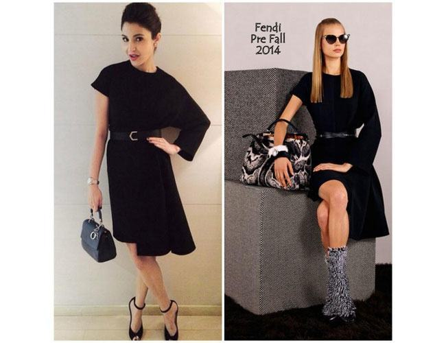 Anushka-Sharma-pics-a-black-one-sleeve-asymmetrical-hem-dress-from-Fendi_s-Pre-Fall-2014-collection