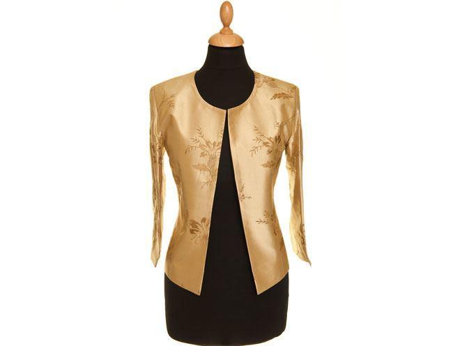 Anya Jacket in Honey Gold
