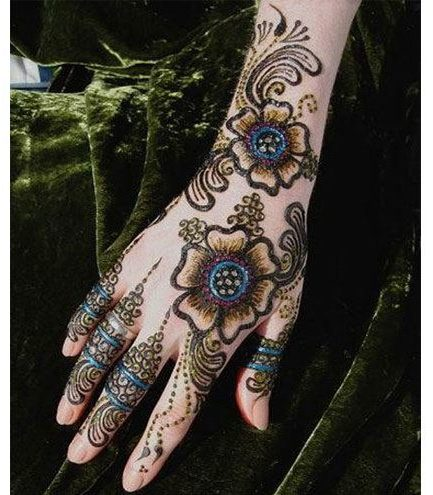 Best Inspiring Pakistani Mehndi Designs Henna patterns