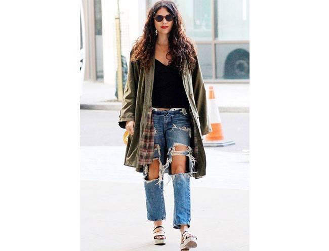 Boyfriend jeans outfit 13