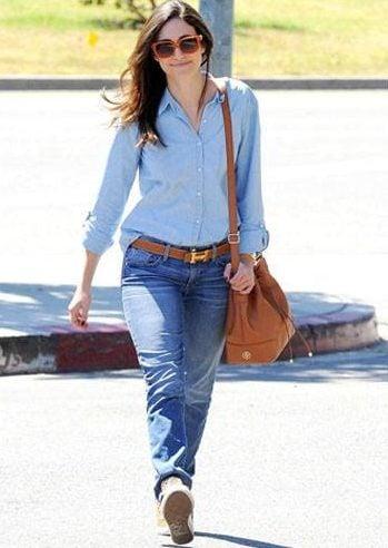 Boyfriend jeans outfit 14