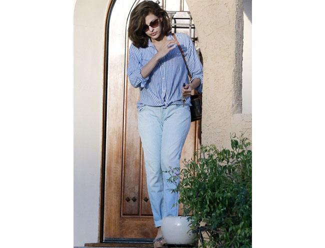 Boyfriend jeans outfit 2