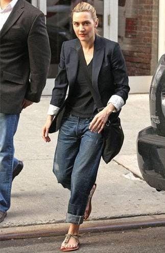 Boyfriend jeans outfit 9