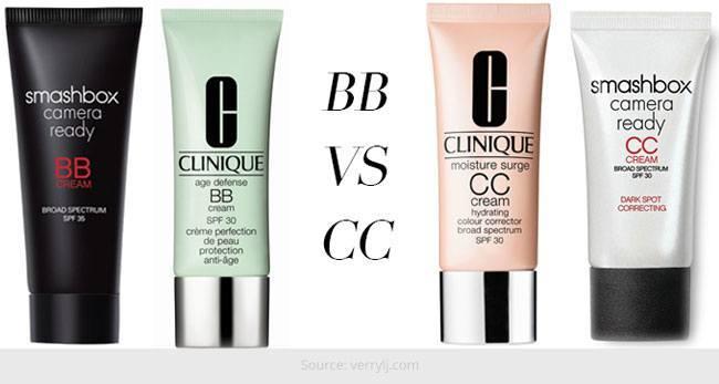 CC Versus BB Creams