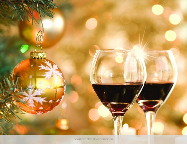 Christmas Say Cheers To Wines