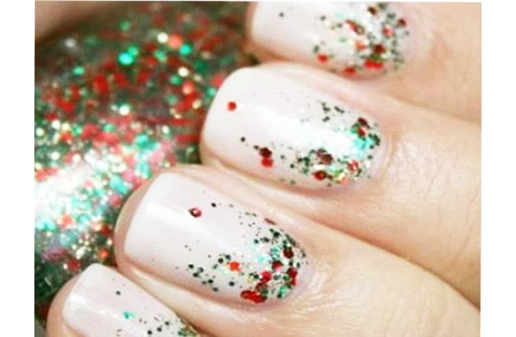 Christmas Spirit Nail Art