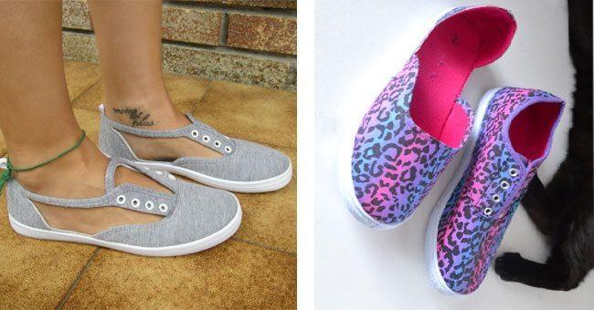 Cutout Sneakers