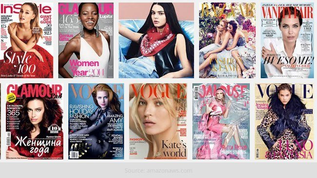 December 2014 Fashion Magazine Covers
