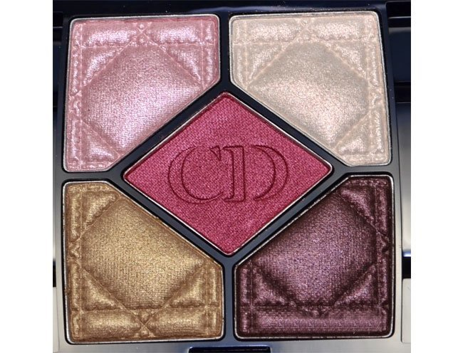 Diors 5 Colour Eyeshadow