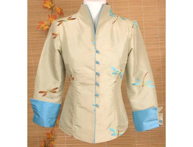 Dragonfly Silk Jacket