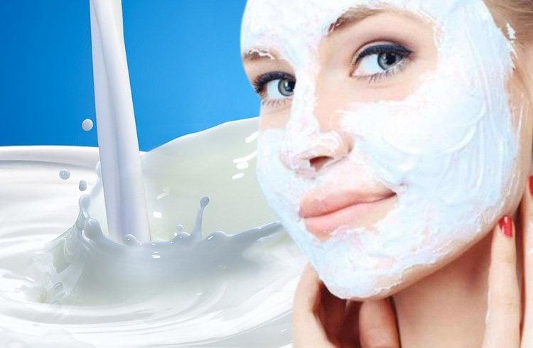 Dry skin face pack