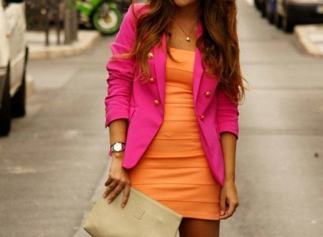 Experiment with Colour Blocking