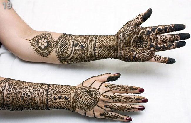 Hands designsfor Marwari Mehndi
