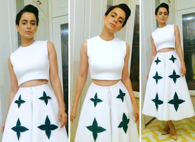 Kangana Ranaut Wears Gauri And Nainika