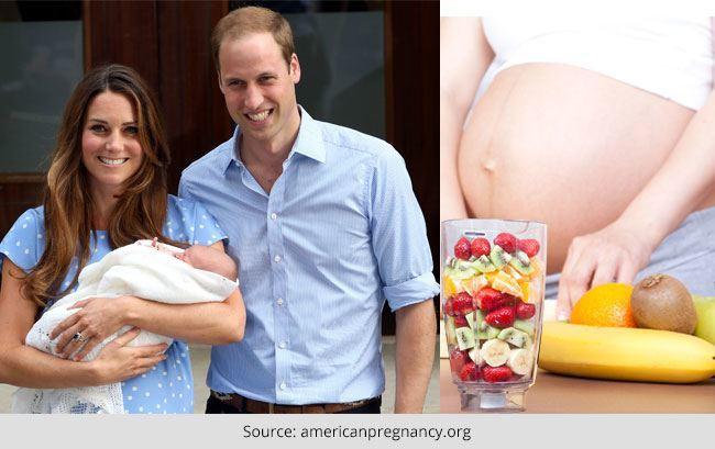 Kate Middleton Pregnant Secret Raw Food