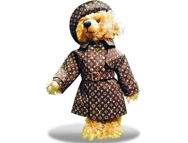 Louis Vuitton Steiff Teddy Bear