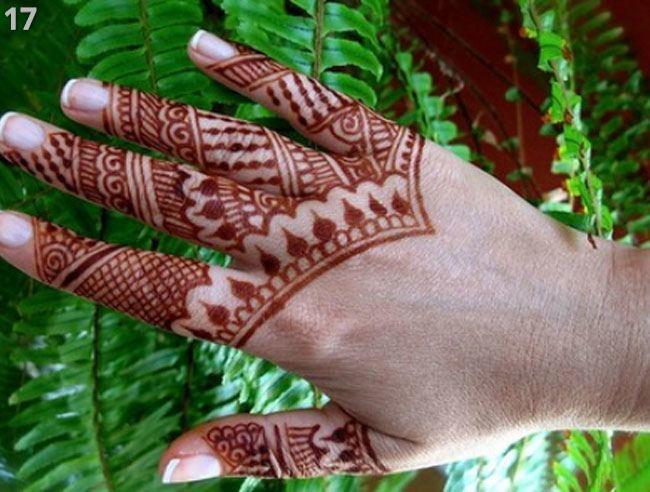 Mehndi Designs For Cute