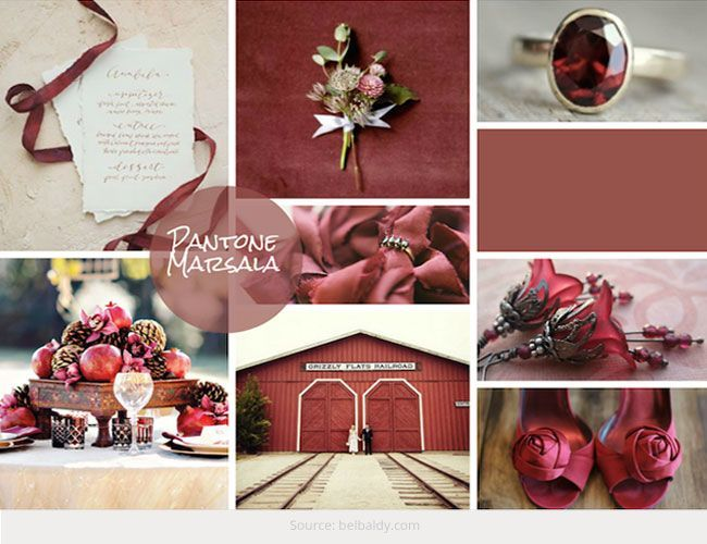 Pantone Announces Color of 2015 - Marsala