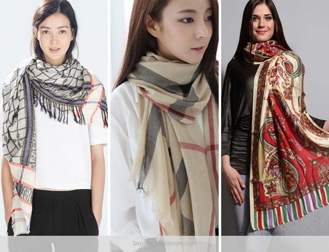 Scarves Mufflers and Stoles for-the Fashionistas