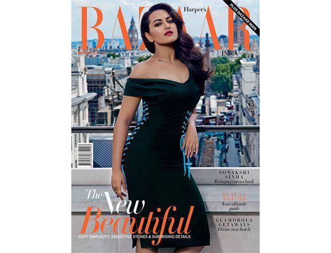 Sonakshi Sinha Harpers Bazaar