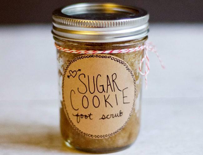 Sugar Cookie Foot Scrub