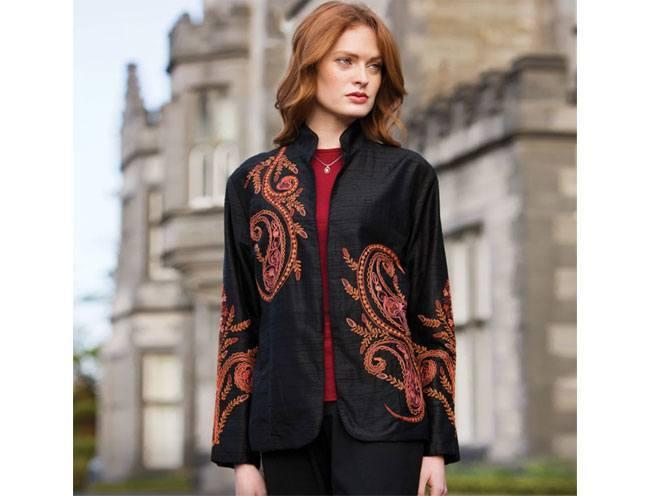 Taj Mahal Silk Jacket
