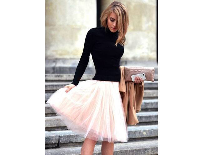 Tulle and Fluff Look