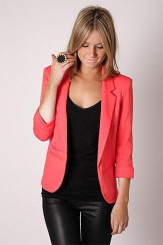 Ways To Wear Bright Coloured Blazers