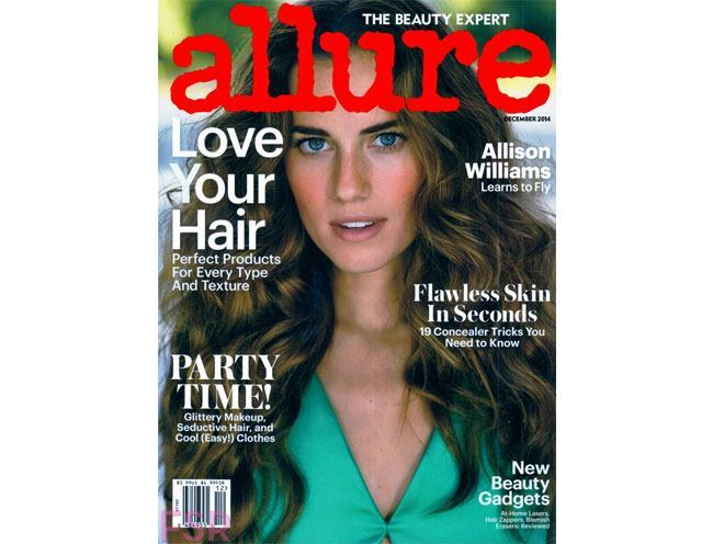 allison williams allure usa