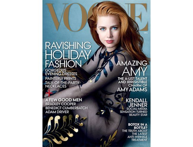 amy adams december vogue cover