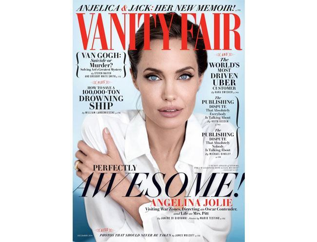 angelina jolie vanity fair december 2014-cover