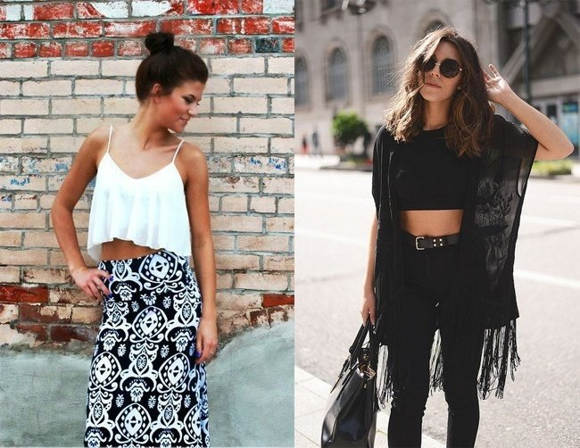 Different Ways to Show off Your Midriff