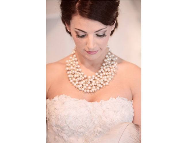 bib pearl necklace