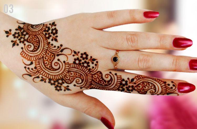Bridal marwari mehndi designs
