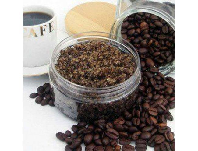 coffee foot scrub