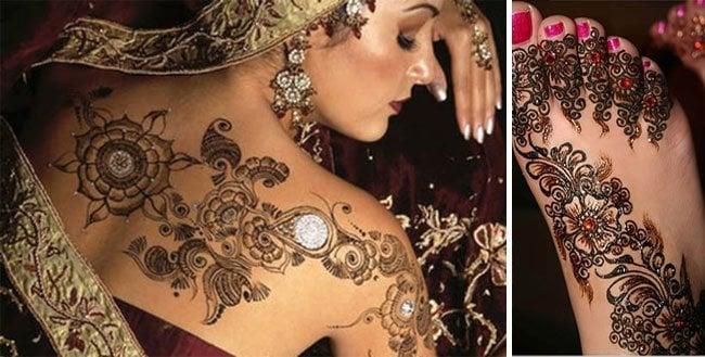 henna tattoos care